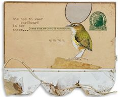 Mary Emma Hawthorne #collage #bird