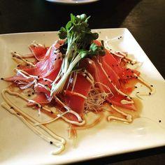 #tuna #tataki so #onolicious #808plate 5/5 shakas. Hope the chef opens one on #Oahu we are celebrating 20 years of #sushi  on 7/26 by jrrtoo