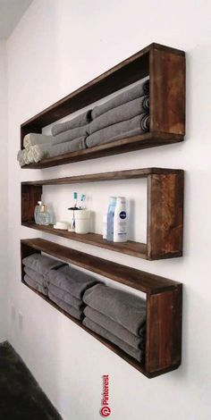47 ideas of shelves for the home that you can make yourself The shelves right . - home accessories - 47 ideas of shelves for the house that you can make yourself The shelves right - deko ideen Diy Home Decor On A Budget, Decorating On A Budget, House Ideas On A Budget, Diy Projects On A Budget, Foyer Decorating, Diy Storage, Diy Organization, Storage Ideas, Wall Shelving