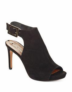 Via Spiga Nino Ankle Booties Black