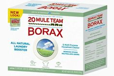 BORAX - Borax is a must have in the house and does much more than cleaning.  See these 25 ways to use borax.