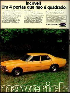 Anúncio Maverick - 1974