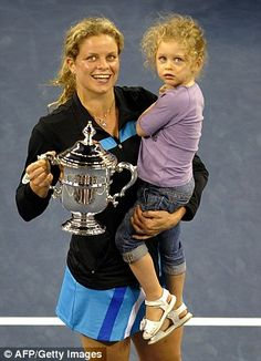 Tennis Star and Mom, Kim Clijsters - A Real Champ!