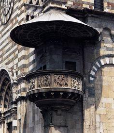 Vnější kazatelna katedrály v Prado (1428-1438) Donatello