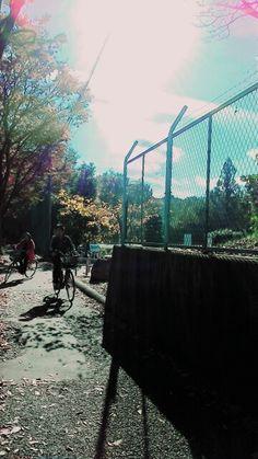 자전거를 즐긴다.