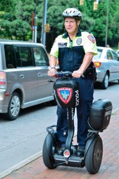 NCSU Campus Police Brush the Dust off Segway PTs
