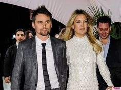 Kate Hudson and Matt Bellamy attend 'The Reluctant Fundamentalist' screening at The 2013 Tribeca Film Festival