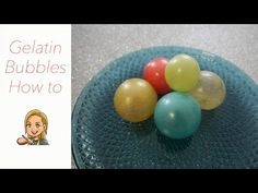 Gelatin Bubbles - How to - YouTube