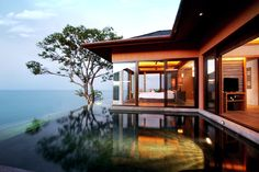 We'll take the luxury pool villa, please. #Thailand