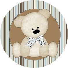 Ideas y material gratis para fiestas y celebraciones Oh My Fiesta!: Imágenes y fondos de ositos 9. Baby Shower Oso, Tedy Bear, Oh My Fiesta, Baby Boy Scrapbook, Baby Shawer, Bear Party, Bear Cartoon, Baby Album, Crafts For Boys