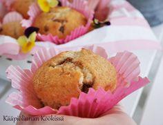 Kääpiölinnan köökissä: Superhelpot suklaahippumuffinssit ♥