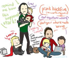 When Loki and Tony accidentally turn the Avengers and Nick Fury into kids :D Marvel Comics, Memes Marvel, Dc Memes, Avengers Memes, Marvel Funny, Marvel Avengers, Avengers Cartoon, Iron Man, Marvel Universe