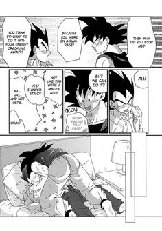 Striving together (goku x vegeta doushinji) - 60 - Wattpad