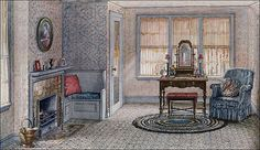 1922 Armstrong Boudoir by American Vintage Home, via Flickr