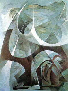 Tullio Crali. Catalogo di mostra, 9-28 marzo 1971. Milano,  Galleria Borgonuovo,  1971