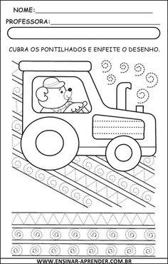 """"""" Cantinho do Educador Infantil """": ATIVIDADES DE GRAFISMOS"""