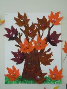 Идеи осенних поделок Fall Arts And Crafts, Autumn Crafts, Fall Crafts For Kids, Autumn Art, Holiday Crafts, Autumn Activities, Activities For Kids, Quick Crafts, Winter Trees