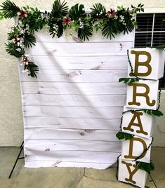 Tropical / Jungle Themed Baby Shower Photo Booth