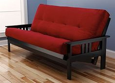 MFD Montana Futon Red >>> To view further for this item, visit the image link.