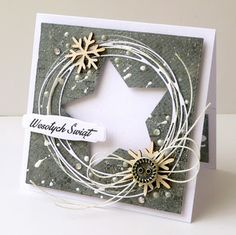 Beeldresultaat voor plastic bindende covers of kristal, transparant . Christmas Cards 2018, Christmas Card Crafts, Homemade Christmas Cards, Printable Christmas Cards, Christmas Paper, Homemade Cards, Handmade Christmas, Holiday Cards, Star Cards