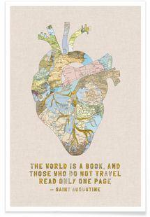 A Traveler's Heart - Bianca Green - Premium poster