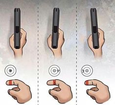Trigger pull - Finger Placement