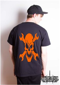 A personal favourite from my Etsy shop https://www.etsy.com/uk/listing/498029352/skull-tshirts-gothic-t-shirt-skull