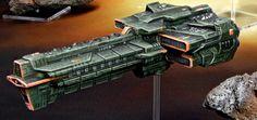 Dindrenzi Federation Cataphract Class Battlecruiser