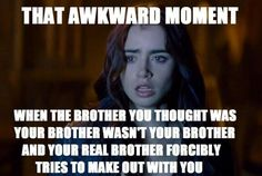 I'm laughing so hard oh my goodness. This sums up the entire series basically. The Mortal Instruments.