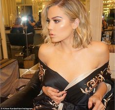 'Feeling some type of way': Khloe Kardashian celebrated her shorter hair with a sexy snap on social media on Thursday night