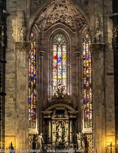 Duomo di Milano Artistic Photography by Ron Elledge