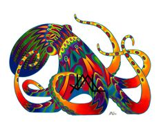 Oaxacan Octopus by *JillianLambertArt on deviantART