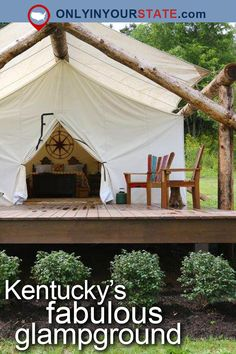 Travel | Kentucky | Places To Visit | USA | Destinations | Glamping | Vacations | Getaways | Places To Stay | Glampground | Luxury Camping | Outdoors | Adventure | Road Trips | Paris | Tents | Natural Beauty
