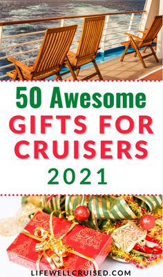 If you're choosing gifts for the cruise traveler in your life, you'll love this list of 50 travel items that cruise lovers will actually use and appreciate!! Cruising in 2021? There are useful travel gadgets you'll be thrilled to have (all from Amazon)