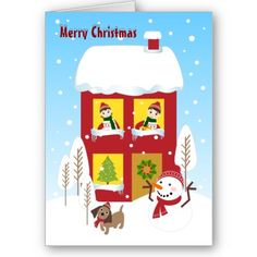 The house of Christmas Greeting Cards