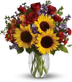 Pure Happiness , Sunflowers - FlowerShop.com