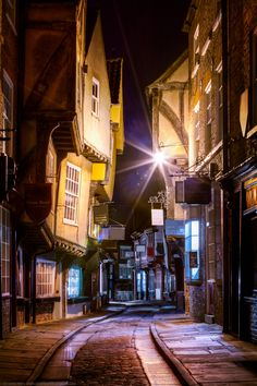 The Shambles, York, England, UK (Perfectly preserved medieval streets - that are still used & lived in today)