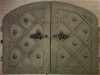 Double Door Pizza Oven Doors