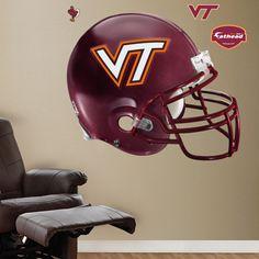Virginia Tech Hokies Helmet