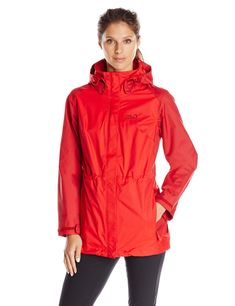 Jack Wolfskin M CLOUDBURST JACKET, Ruby Red Fast and cheap