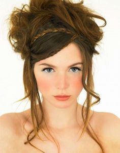 Unhackneyed braided hairstyle with loose strands :: one1lady.com :: #hair #hairs #hairstyle #hairstyles