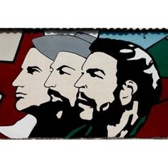 Havana Cuba Revolutionary sign Canvas Art - Julien McRoberts DanitaDelimont (17 x 11)