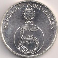 Wertseite: Münze-Europa-Südeuropa-Portugal-Euro-5.00-2006-Mosteiro de Alcobaça