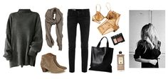 fall outfit ideas, isabel marant booties, casual chic