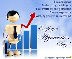 Dgreetings - Show your appreciation for an employee with this card. Employee Day, Employee Appreciation, Success, Notes, Joy, Cards, Report Cards, Glee, Notebook