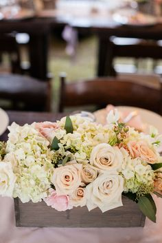If you're looking for alternatives to vases then flower boxes can really give your floral arrangements a different look.