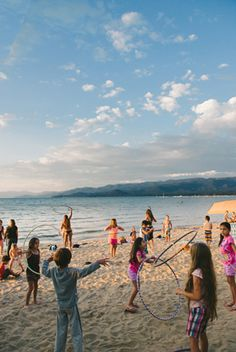 Free concerts on the beach in South Lake Tahoe - all summer long :)