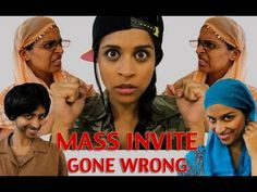 Mass Invite Gone Wrong (Based on a True Story) - YouTube