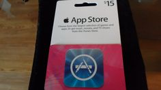 $15 App Store ITUNES Gift Card 3 days only