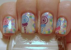 Wonka Candy ~ Nail Art